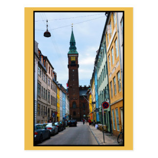 Copenhagen, Denmark, City Hall Postcard