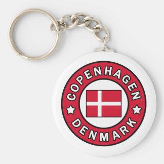 Copenhagen Denmark keychain
