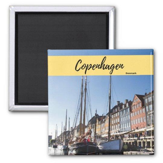 Copenhagen Denmark Souvenir Magnet