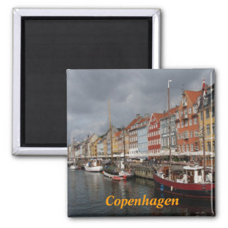 Copenhagen fridge magnet