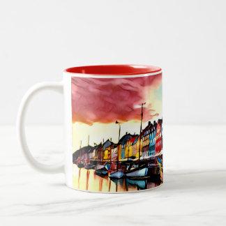 Copenhagen Harbour Mug