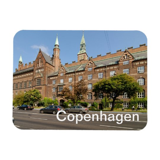 Copenhagen Rectangular Photo Magnet