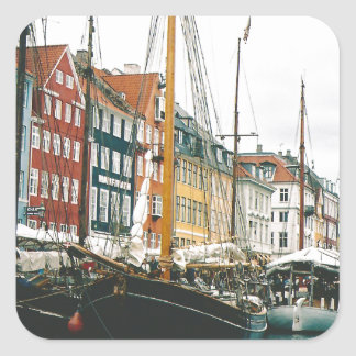 Copenhagen Square Sticker