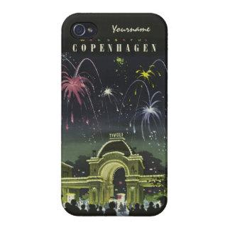 Copenhagen Vintage Travel cases iPhone 4/4S Case
