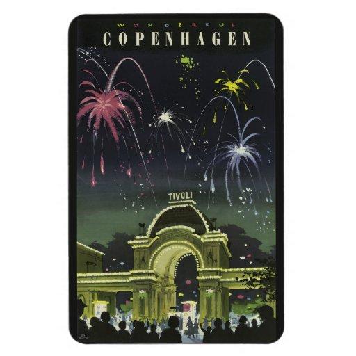 Copenhagen Vintage Travel magnet