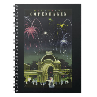 Copenhagen Vintage Travel notebook