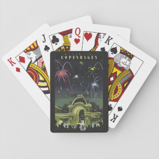 Copenhagen Vintage Travel playing cards