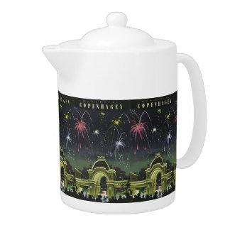 Copenhagen Vintage Travel teapot