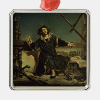 Copernicus in the tower at Frombork Christmas Ornament