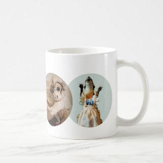 Copernicus, Juanita, Bloggess & Jefferson Peabody Basic White Mug