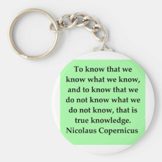 copernicus quote keychains