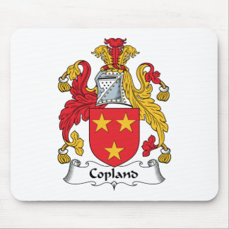 Copland Family Crest Mouse Pad