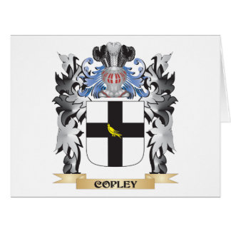 Copley Coat of Arms - Family Crest Big Greeting Card