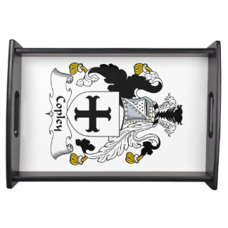Copley Family Crest Service Trays