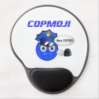 CopMoji - More Coffee Mouse Pad