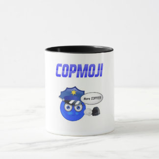 CopMoji - More Coffee!!! Mug
