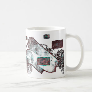 Copper Abstract Expression Mug