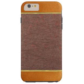 Copper and Bronze Textured Phone Case Tough iPhone 6 Plus Case