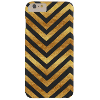 Copper and Charcoal Chevron Phone Case
