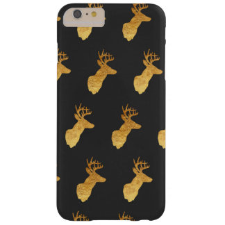 Copper and Charcoal Deer Phone Case