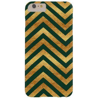 Copper and Emerald Chevron Phone Case
