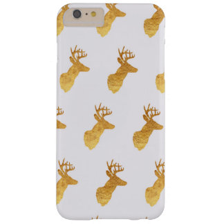 Copper and Ivory Reindeer Barely There iPhone 6 Plus Case