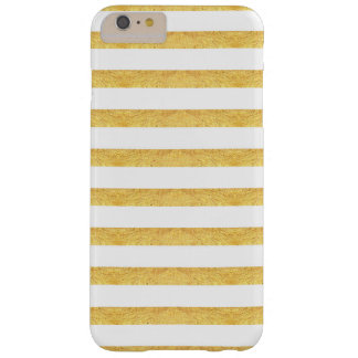 Copper and Ivory Striped Phone Case