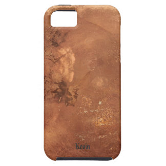 Copper background iPhone 5 case
