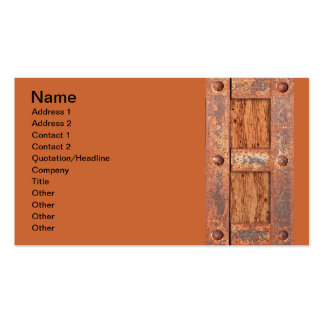 COPPER BRONZE TREASURE CHEST DOOR METAL RUST BOLTS PACK OF STANDARD BUSINESS CARDS