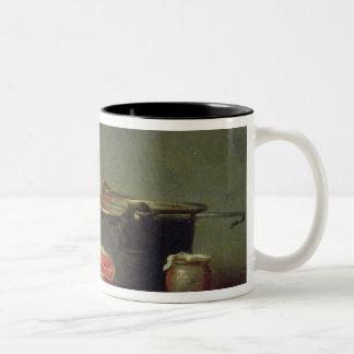 Copper Cauldron with a Pitcher Two-Tone Coffee Mug