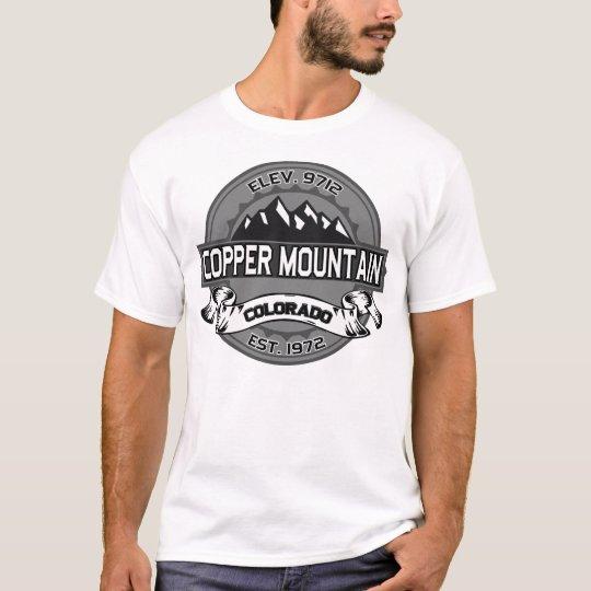 Copper City Logo Grey T-Shirt