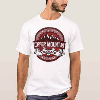 Copper City Logo Red T-Shirt