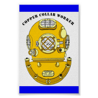 Copper Collar Worker Posters