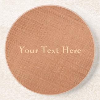 Copper Colored Coaster