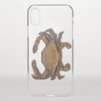 Copper Crab iPhone X Case