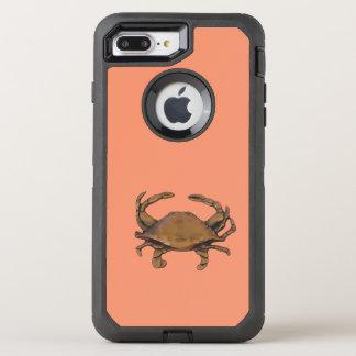 Copper crab OtterBox defender iPhone 8 plus/7 plus case