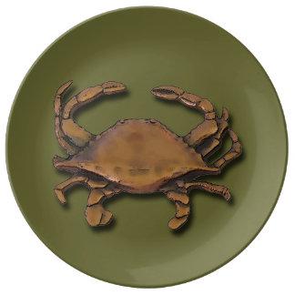Copper Crab Plate