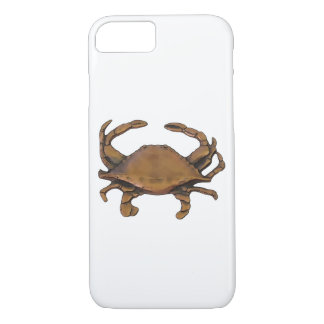Copper Crab White Background iPhone 8/7 Case