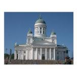 Copper-Domed Church In Helsinki Post Cards