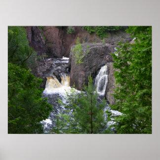 Copper Falls Print