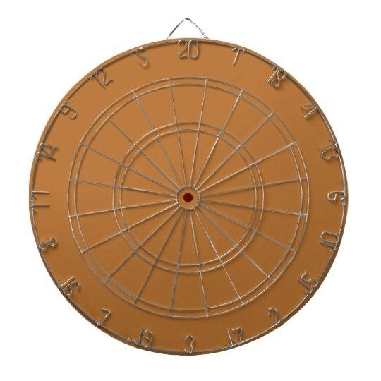 Copper Fashionable Colour Complementing Dartboard
