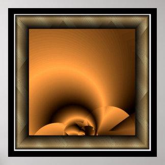 Copper Florescence. Poster