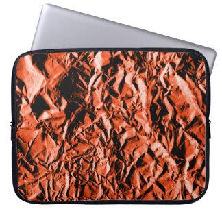 Copper Foil #2 Laptop Sleeve