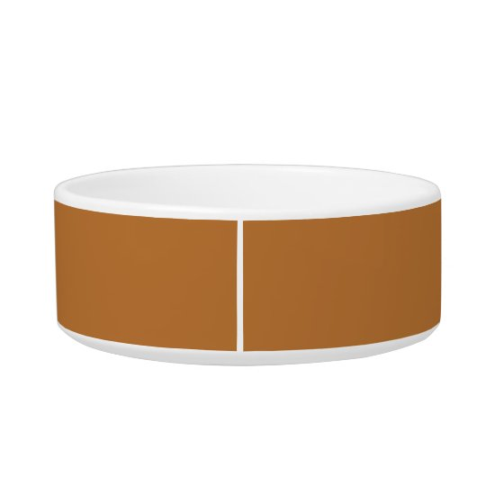 Copper Gift Matching Colour Pet Food Bowls