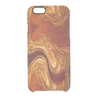 Copper & Glass Clear iPhone 6/6S Case