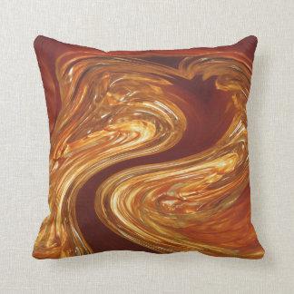 Copper & Glass Cushion