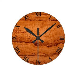 Copper Granite Clock