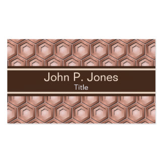 Copper Hexes Business Card