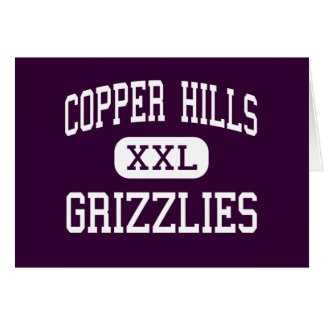 Copper Hills - Grizzlies - High - West Jordan Utah Greeting Card