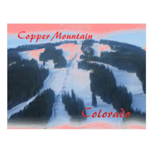 Copper Mountain Colorado postcard